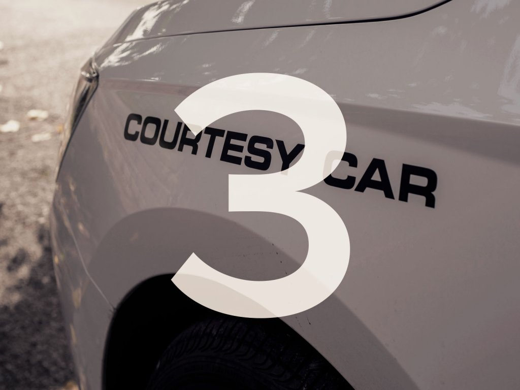 Courtesy Car During Your Car Repair or Service